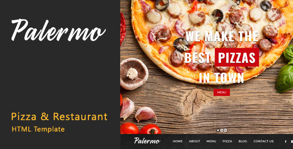ThemeForest Palermo Pizza & Restaurant HTML Template 20461341