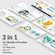 Jun 6 Premium  - 3 in 1 Bundle Multiperpose Google Slide Template