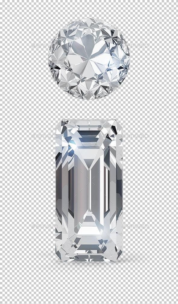 Diamond Info Icon - Objects 3D Renders