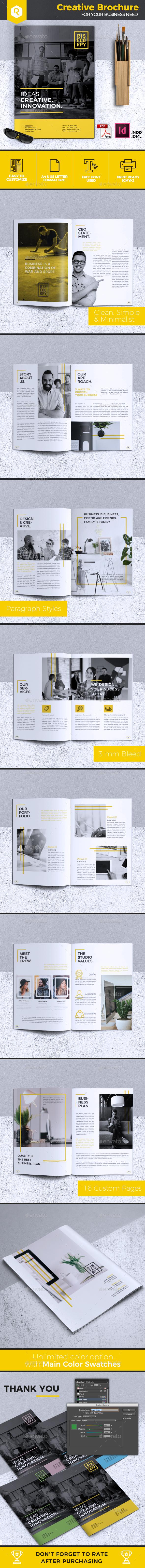 Creative Brochure Template Vol. 32 - Corporate Brochures