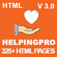 HelpingPro - Nonprofit, Crowdfunding & Charity HTML5 Template - ThemeForest Item for Sale