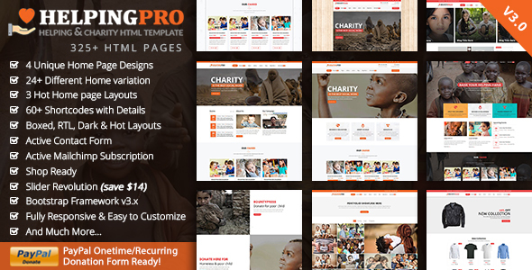 Charity Crowdfunding  - HelpingPro Charity - Charity Nonprofit