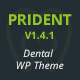 Prident - Medical and Dental Clinic WordPress Theme - ThemeForest Item for Sale