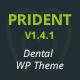 Prident - Medical and Dental Clinic WordPress Theme