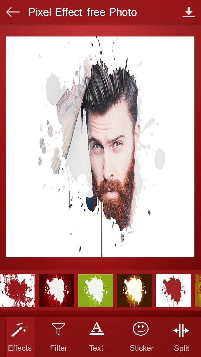 Pixel Effect-free Photo Editor (Photo Editing App)