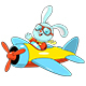 Bunny Pilot - GraphicRiver Item for Sale