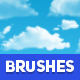 80 Cloud Brushes Pack - GraphicRiver Item for Sale