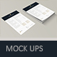 Office Documents Mock-Ups
