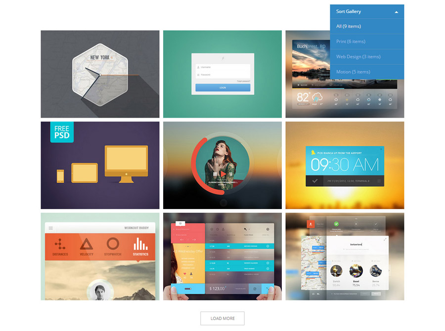 Cube Portfolio - Responsive jQuery Grid Plugin by bmihai | CodeCanyon
