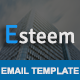 Esteem - Multipurpose Responsive Email Template With Stamp Ready Builder Access
