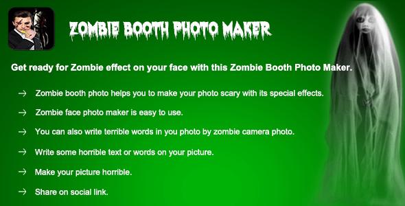 CodeCanyon Zombie Booth Photo Maker Photo Editing App 20462175