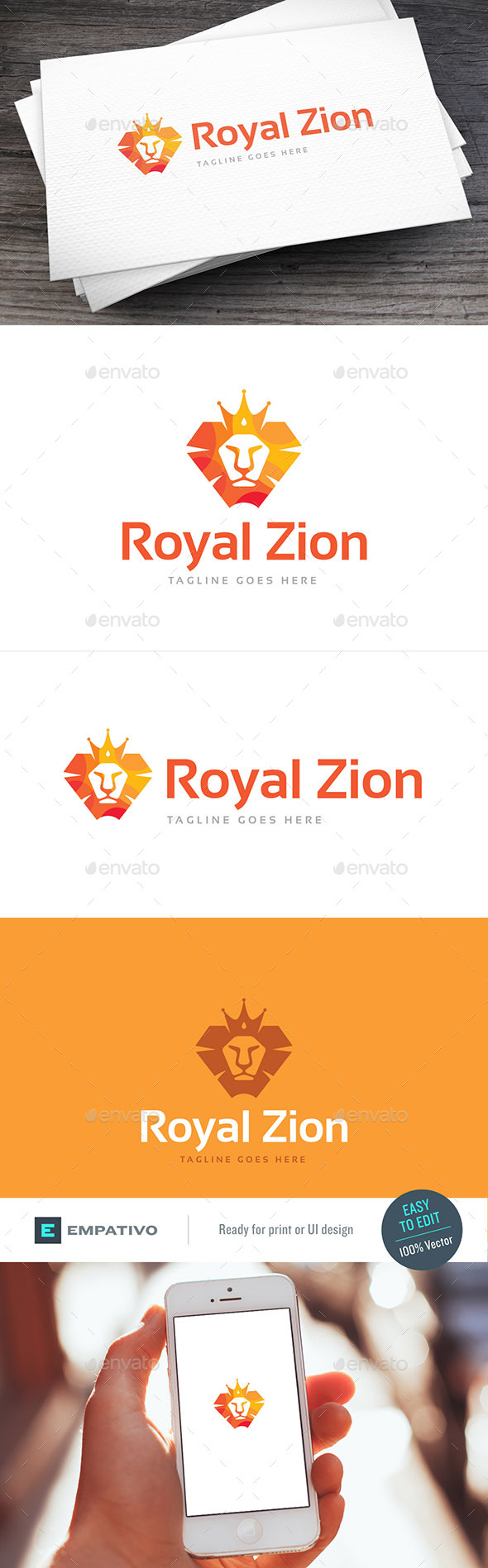 Royal Zion Logo Template