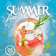 Summer Cocktail Flyer / Poster Template