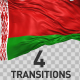 Belarus Flag Transitions - VideoHive Item for Sale