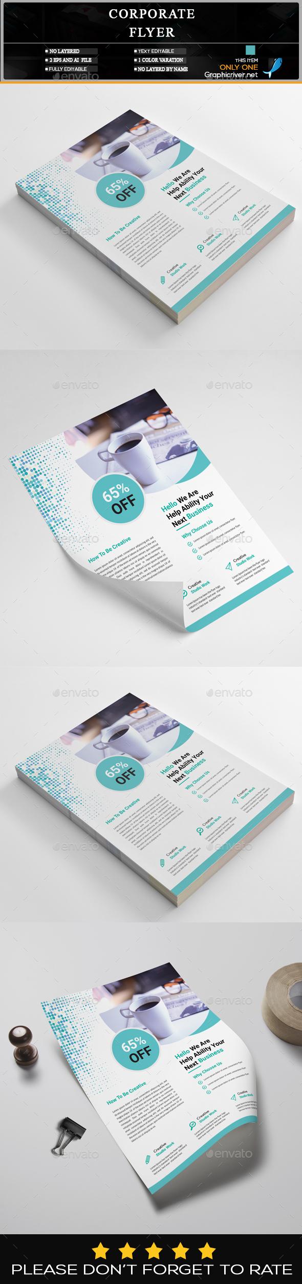 GraphicRiver Corporate Flyer 20462264