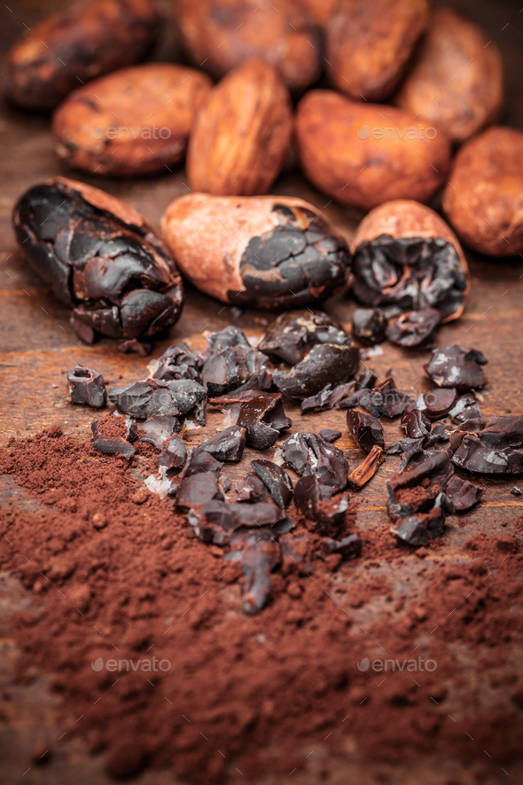 Cacao nibs - Stock Photo - Images