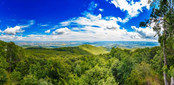 Amazing summer mountains