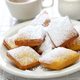 homemade new orleans beignet donuts with plenty of powdered sugar - PhotoDune Item for Sale