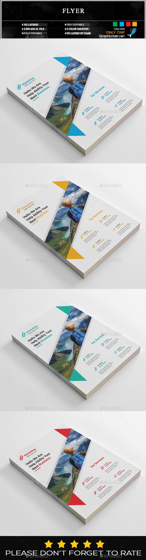 GraphicRiver Flyer 20462435