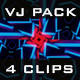 Abstract Sharp Glowing VJ Pack - VideoHive Item for Sale