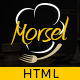Morsel - Restaurant Lounge Cafe HTML5 Responsive Template - ThemeForest Item for Sale