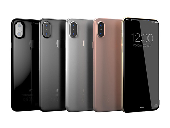 iPhone 8 - All colors - 3DOcean Item for Sale