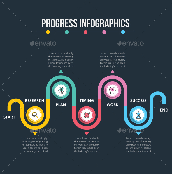 GraphicRiver Progress Infographics 20462851