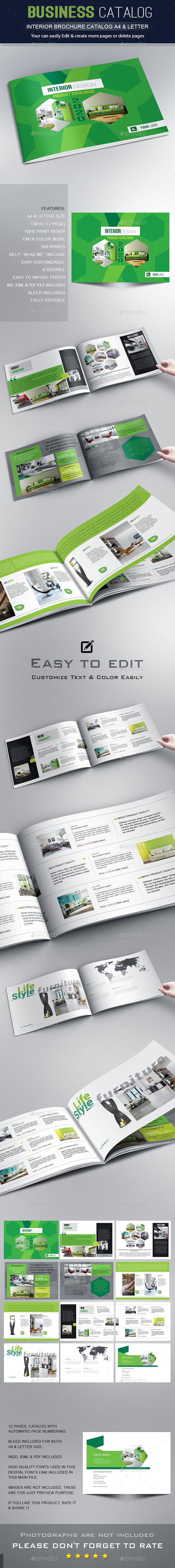 GraphicRiver Interior Brochure 20462904