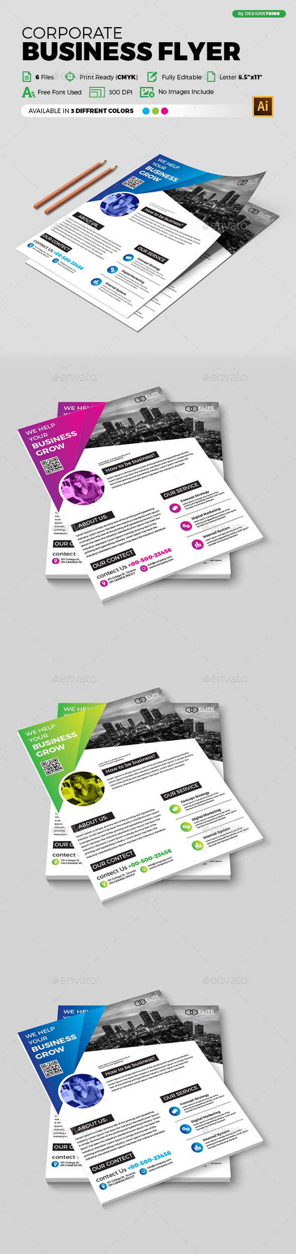 Flyer – Multipurpose 330 - Corporate Flyers