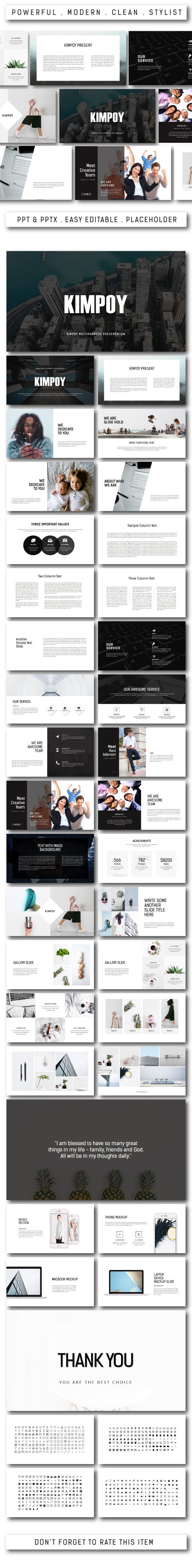 Kimpoy Multipurpose Powerpoint - PowerPoint Templates Presentation Templates