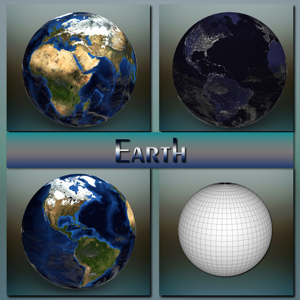 3DOcean Earth 20462940