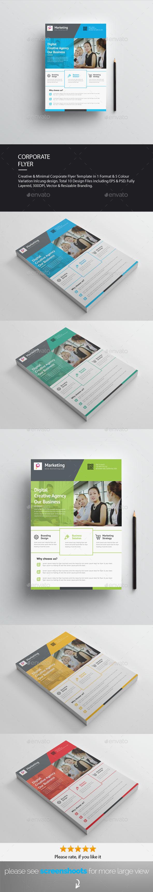 GraphicRiver Corporate Flyer 20463104