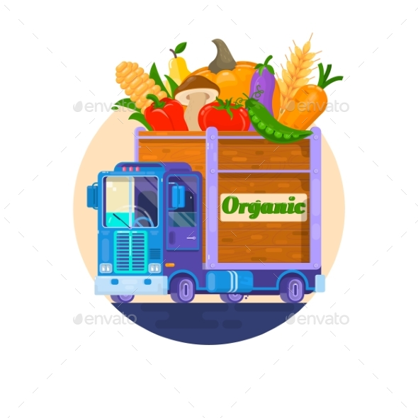 Fast Delivery of Fresh Vegetables. - Food Objects