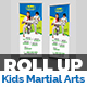 Kids Martial Arts Training Center Roll-Up