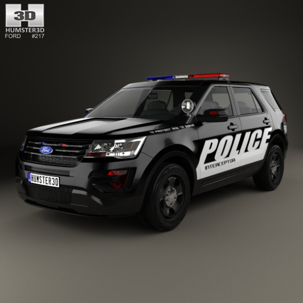 3DOcean Ford Explorer Police Interceptor Utility 2016 20463414
