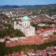 Flying Around Cathedral of Esztergom, Near Budapest, Hungary - VideoHive Item for Sale