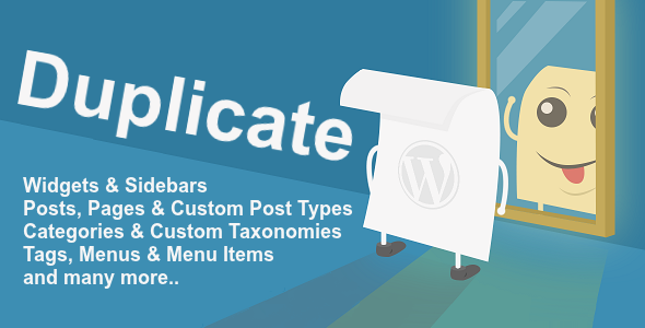 WordPress Duplicate - Duplicate any WordPress structure - CodeCanyon Item for Sale
