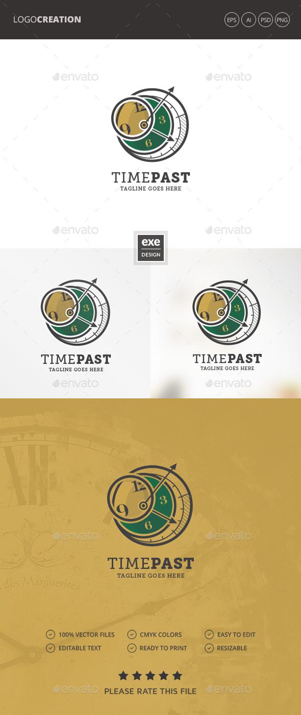 Clock Logo - Objects Logo Templates