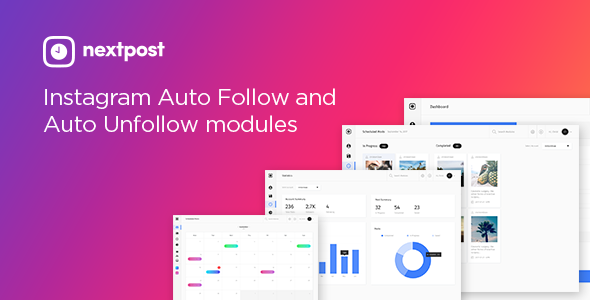 CodeCanyon Instagram Auto Follow & Unfollow Modules for Nextpost Instagram 20463865