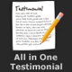 All in One Testimonial