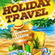 Holiday Travel Party - GraphicRiver Item for Sale