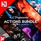 Five Photoshop Actions Bundle v5