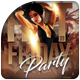 Hot Friday Party Flyer Template