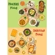 Meat, Seafood Dishes Icon for Healthy Food Design