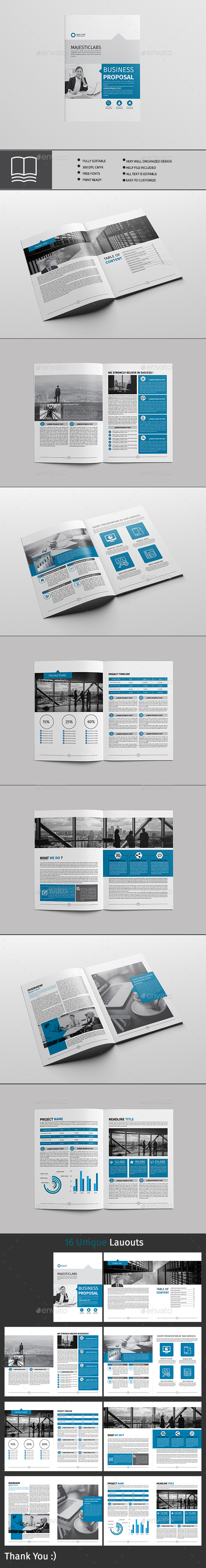 GraphicRiver Brochure 16 Page 20464531