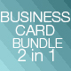 Bundle - Creative Business Cards - GraphicRiver Item for Sale
