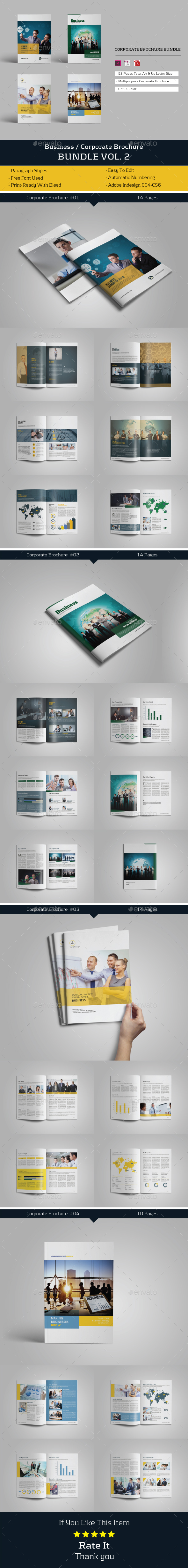 Businees Brochure Bundle Vol. 2 - Corporate Brochures