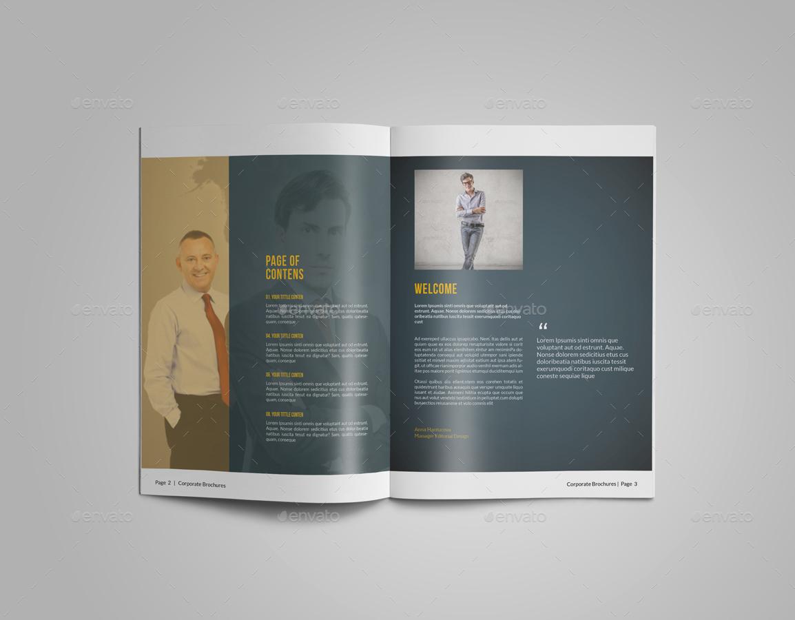 brochure templates envato - businees brochure bundle vol 2 by alhaytar graphicriver