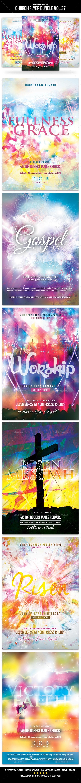 Church Flyer Bundle Vol. 37 - Church Flyers