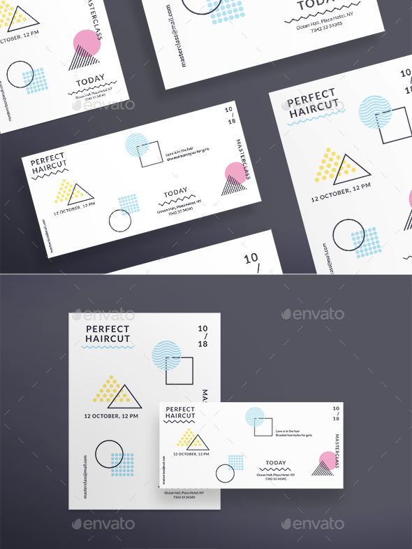 GraphicRiver Perfect Haircut Flyers 20464895